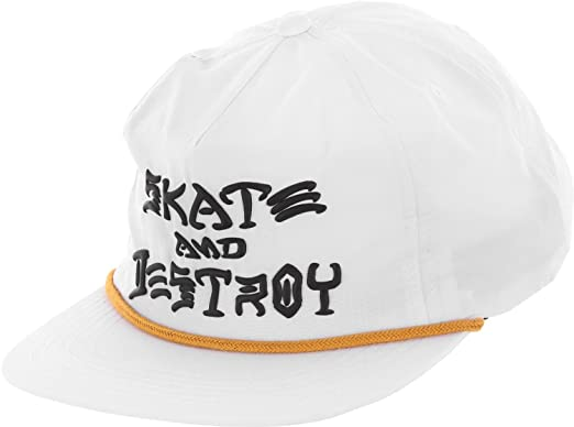 529661bea0e Image Unavailable. Image not available for. Color  Thrasher Skate   Destroy  Puff Ink ...