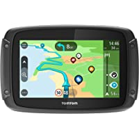TomTom RIDER 500 - GPS Moto - Cartographie Europe 48, Trafic, Zones de Danger à Vie et Appel Mains-Libres (compatible Siri et Google Now)