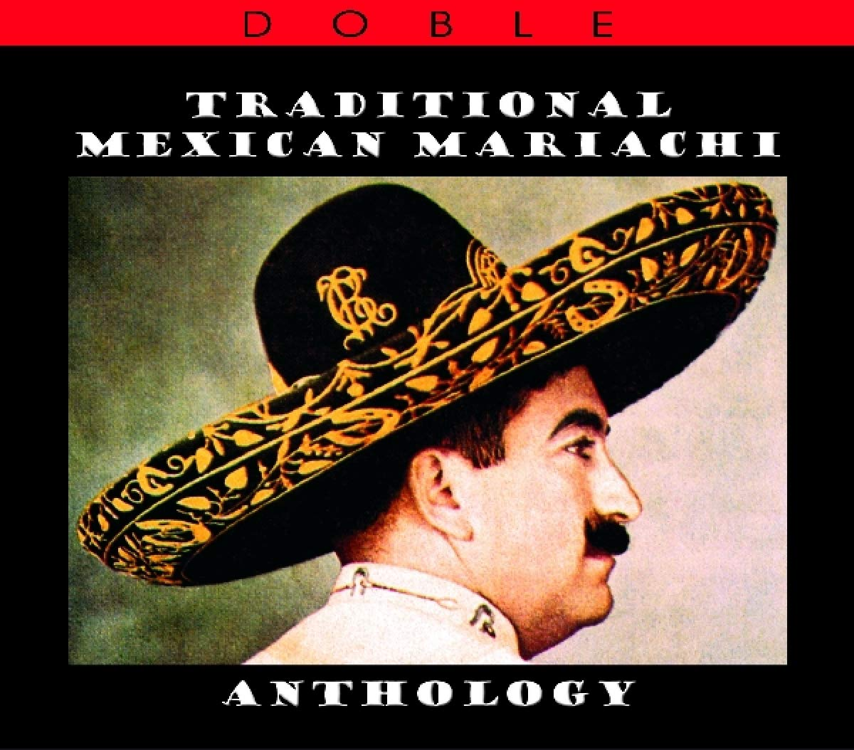 CD : Traditional Mexican Mariachi / Various (2PC)