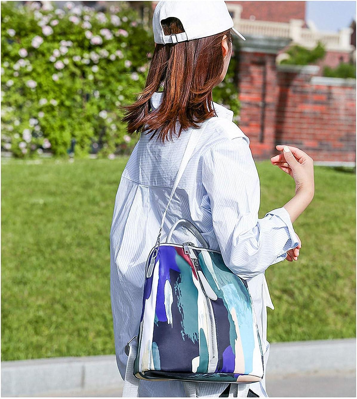 GuaziV Backpack Purse for Women Nylon Anti-theft Waterproof Fashion Bag Lightweight School Shoulder Bags