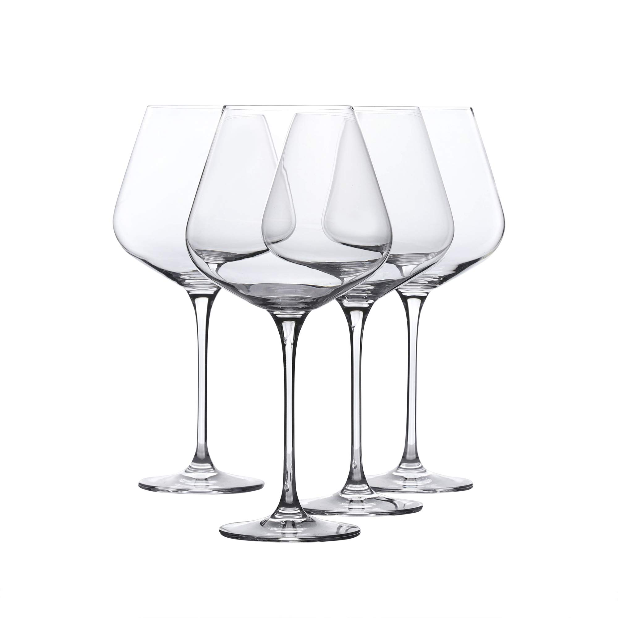 Red Wine Glasses - Crystal Glass - Lead Free - Wine Glasses Set of 4 (29 Ounce)