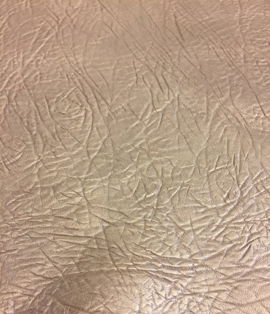 Craft Real Leather Hide – Top Quality Lambskin - Dark Champagne Color - 4 sq ft - AVG 24¨x 22¨ - Pearlescent Finish – Spanish Full Skins – Soft Thin Upholstery Fabric – Home Décor Material by Leather Treasure Shop (Image #6)