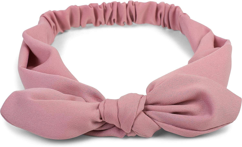 Stirnband Baby /& Kinder Haarband Kopfschmuck Kopfband Marine Schleife Hasenohren