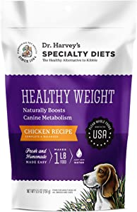 Dr. Harvey's Specialty Diet Healthy Weight Chicken Recipe, Human Grade Dehydrated Dog Food with Chicken
