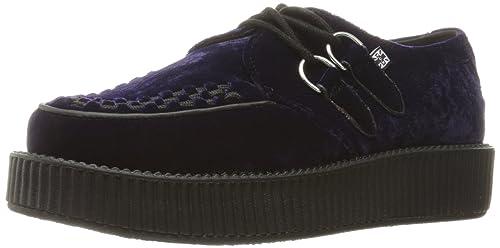 T.U.K. Women's V9096 Viva Low Sole Creeper Oxford, Purple, ...