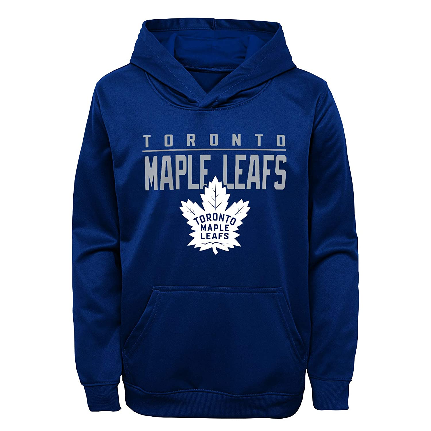 Toronto Maple Leafs Youth Pacesetter Performance Pullover Fleece Hoodie