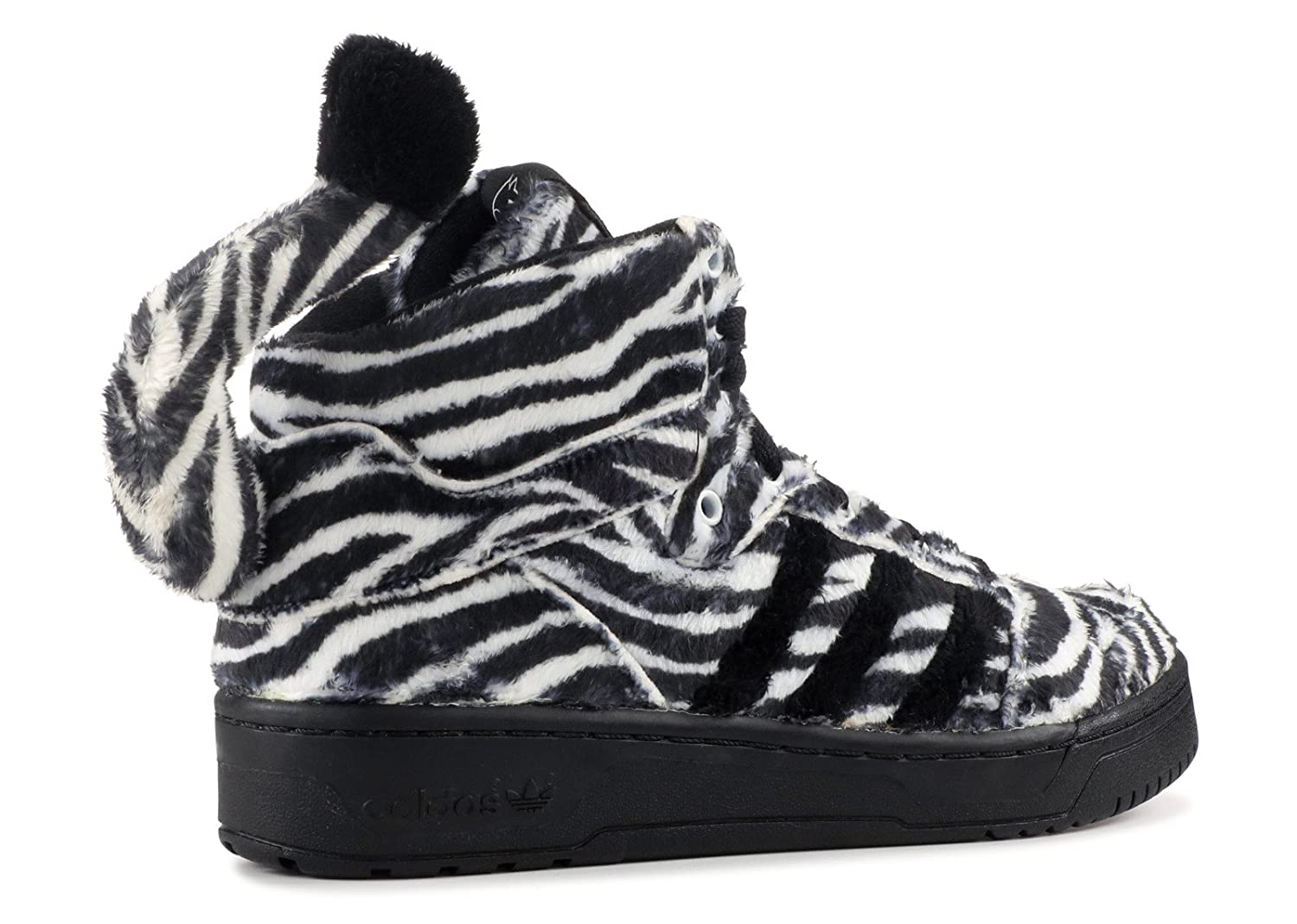 38c39bf30 adidas originals jeremy scott JS ZEBRA mens hi top trainers G95749 sneakers  shoes