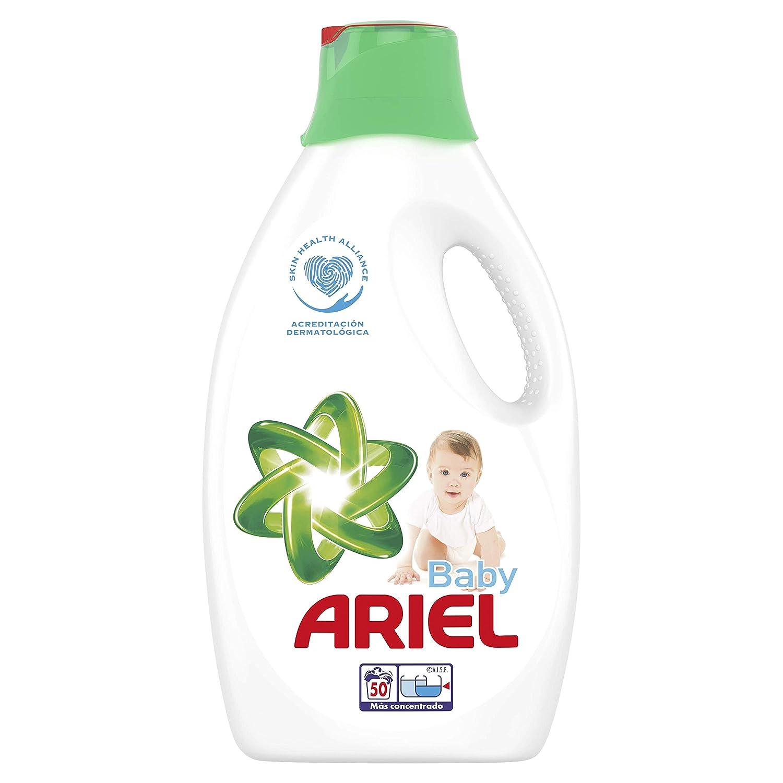 Ariel Baby Detergente Líquido, Dermatológicamente Testado Para La ...