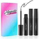 LANKIZ Magnetic Eyeliner 3 Tubes 5ml, Magnetic Lash Liner, Liquid Eyeliner for Magnetic Eyelash, Natural Looking, Waterproof