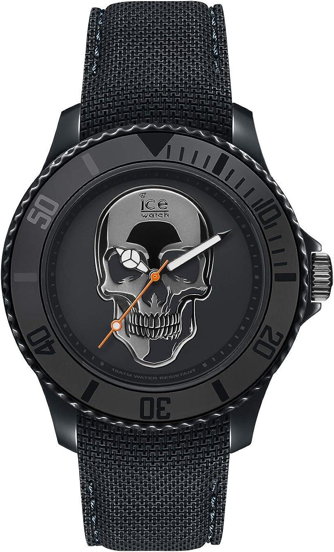 Ice-Watch - ICE change Dark skull - Reloj nero para Hombre con Correa de silicona - 016050 (Large)