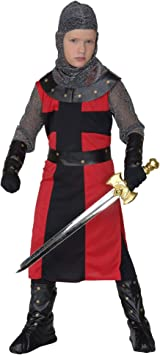 WIDMANN Widman - Disfraz de caballero medieval para niño, talla M