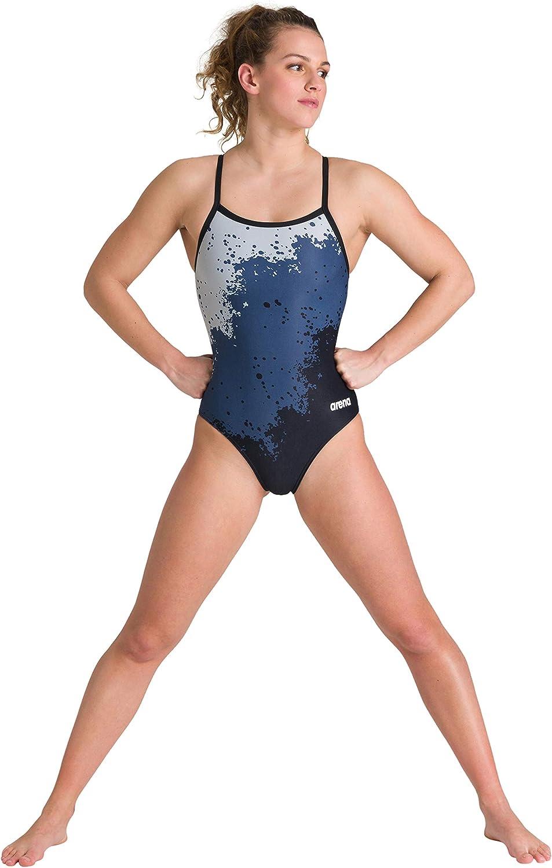 ARENA Damen Sport Badeanzug Vivid Traje de ba/ño de una Sola Pieza Mujer