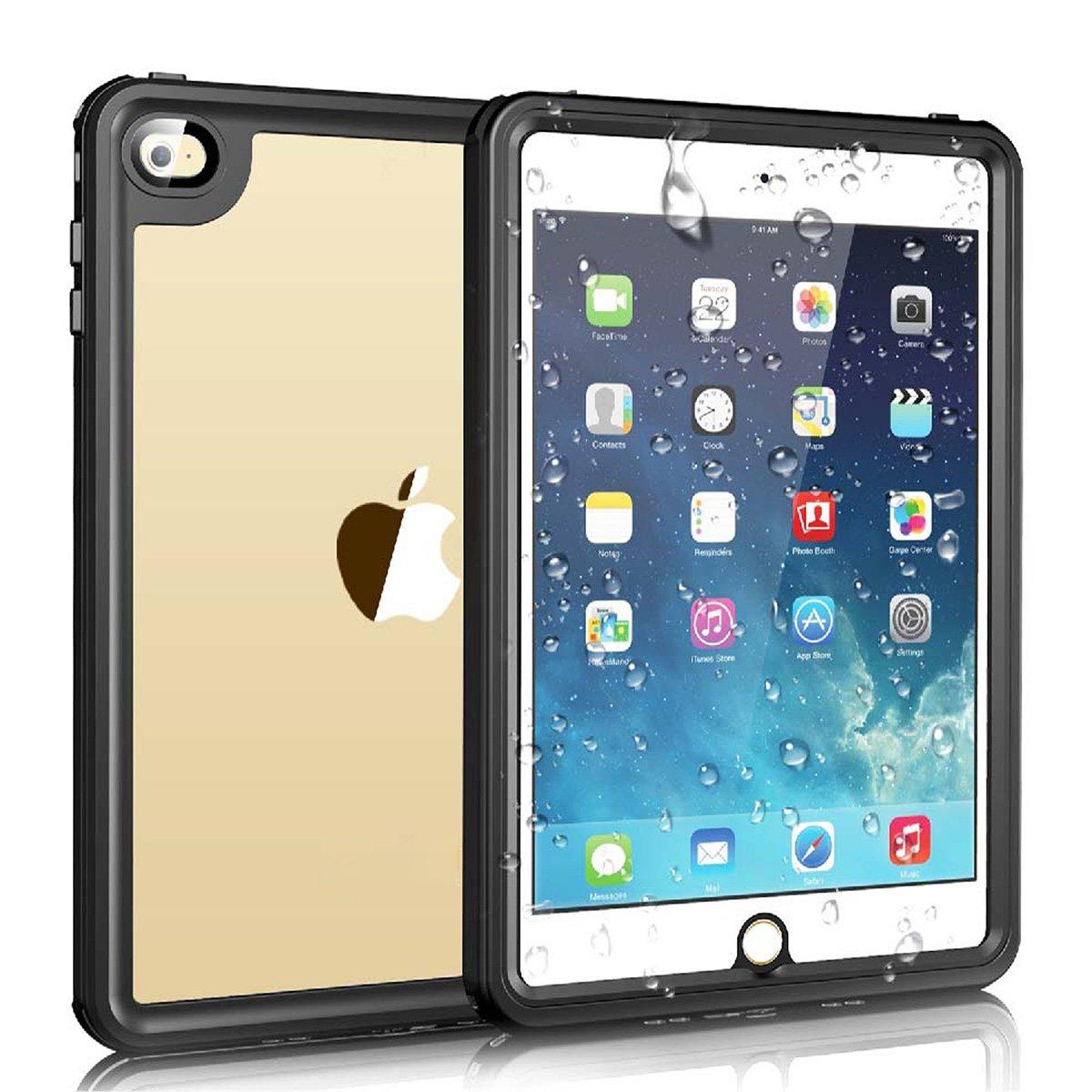 一番の iPad 水中保護ケース Mini 4 防水ケース FugouSell IP68認定 360度保護 iPad 完全密封 iPad 防塵 耐衝撃 水中保護ケース スクリーンプロテクター付き iPad Mini 4用 (ブラック) B07L3ZS86J, セイワムラ:87834fd4 --- a0267596.xsph.ru