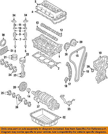 Amazon.com: HYUNDAI OEM 17-18 Ioniq-Engine Harmonic Balancer 2312403HA0:  Automotive | Hyundai Engine Diagrams |  | Amazon.com