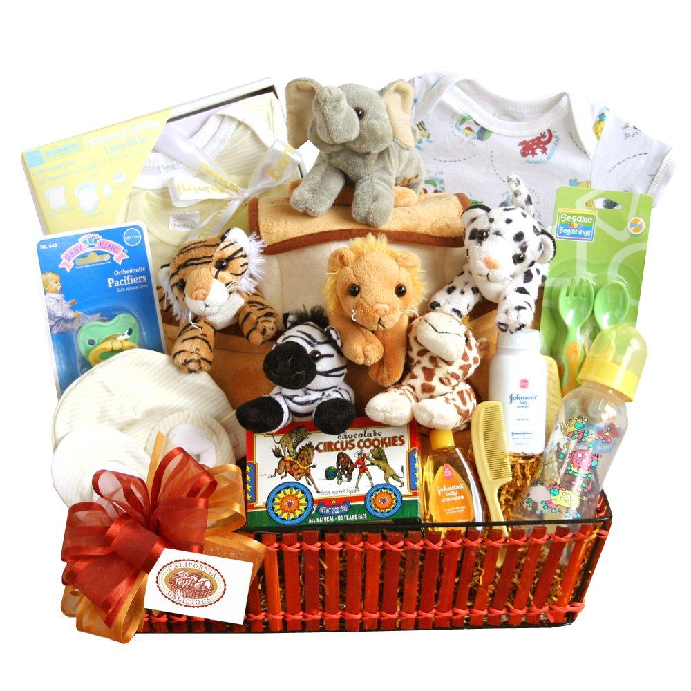 California Delicious Gift Basket, Noah's Ark Baby
