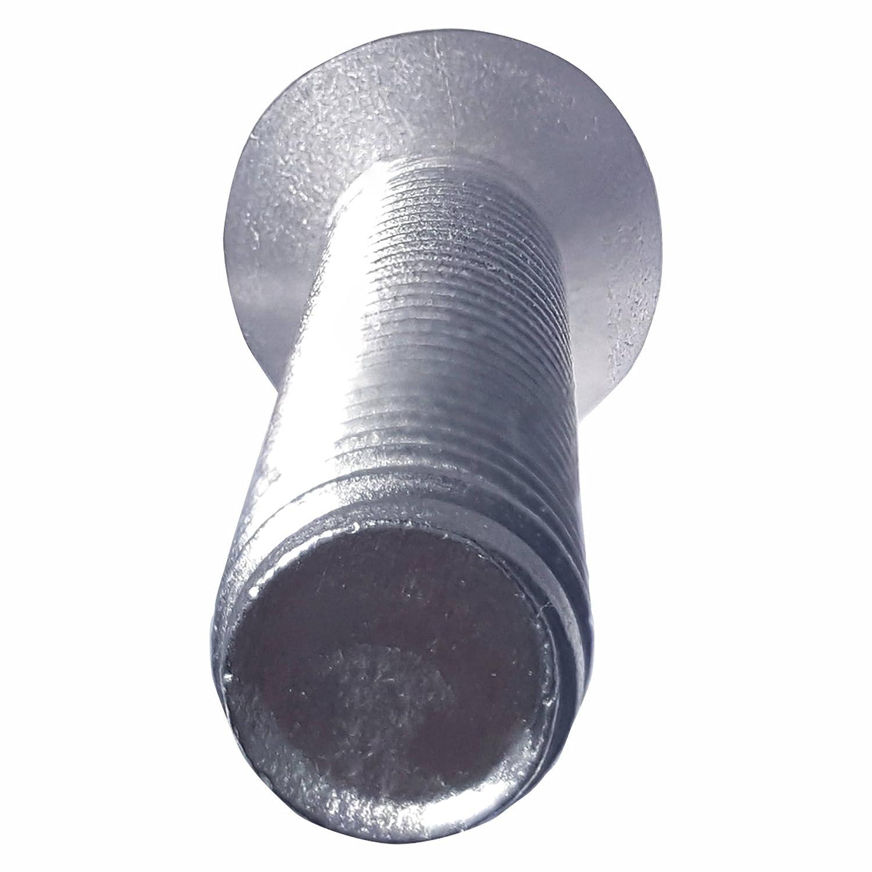 Bright Finish 6-32 x 2 Oval Head Machine Screws Stainless Steel 18-8 Full Thread Phillips Drive Quantity 100 By Fastenere Machine Thread