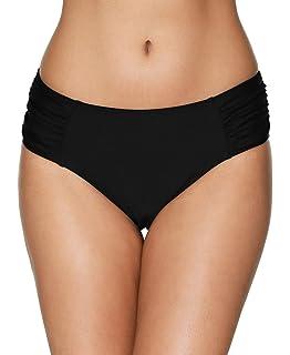 9375955a63c beautyin Women s Bikini Bottoms Ruched Swim Bottoms Full Coverage Swim  Briefs