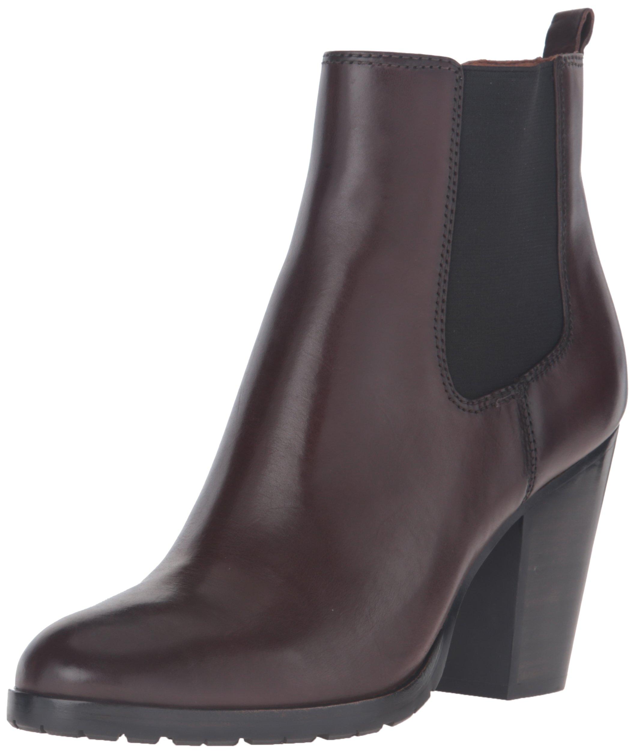 FRYE Women's Tate Chelsea Boot, Dark Brown, 8 M US