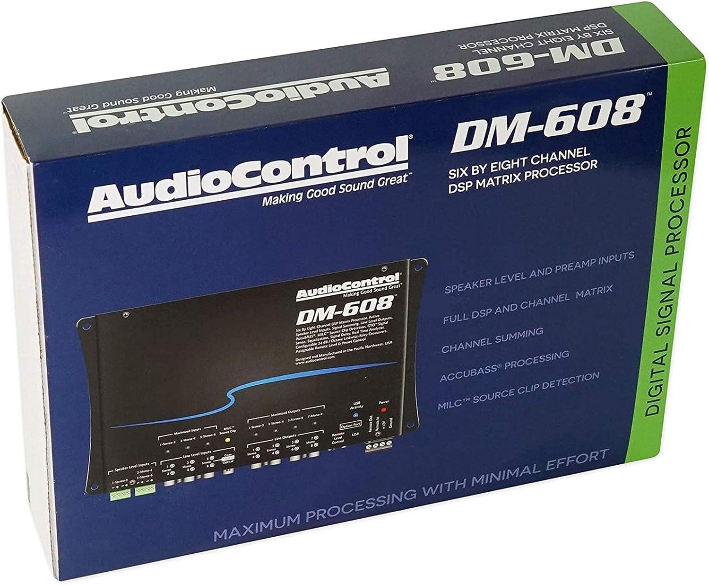 AudioControl DM-608 6 by 8 Channel Matrix Digital Signal Processor