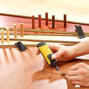 Kit Set Reparador suelo Parquet y laminado puertas ventanas Madera Elimina Ara/ñazos
