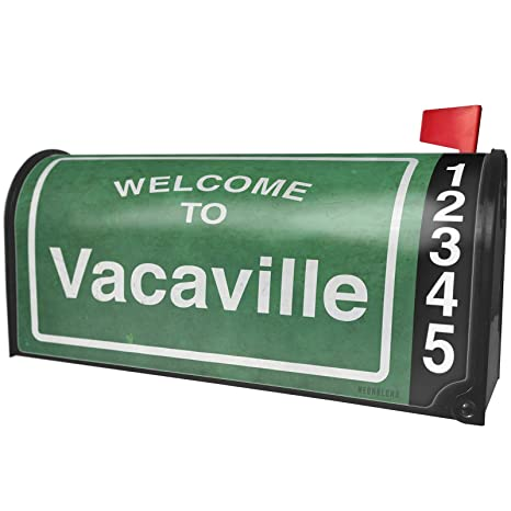 Amazon com: NEONBLOND Green Road Sign Welcome to Vacaville
