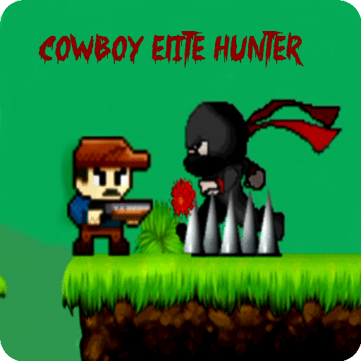 Cowboy Elite Hunter: A Cute pixel style Platform Shooting Adventure