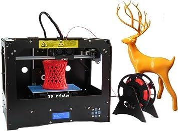Impresora 3d (Negro) Personal Protable Desktop Impresora D de 3 ...
