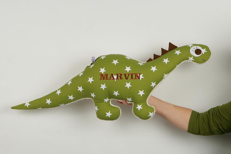 Kissen in Dinoform,individuell mit Namen Dinosaurierkissen,Dinokissen,60 cm
