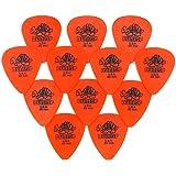 Jim Dunlop Tortex Guitar Picks / Plectrums: 0.60 mm (Pack of 12 Picks)