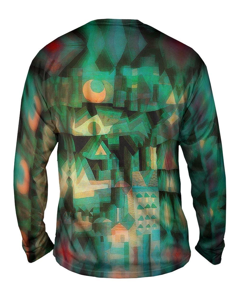 Dream City 1921 -TShirt- Mens Long Sleeve Yizzam- Paul Klee