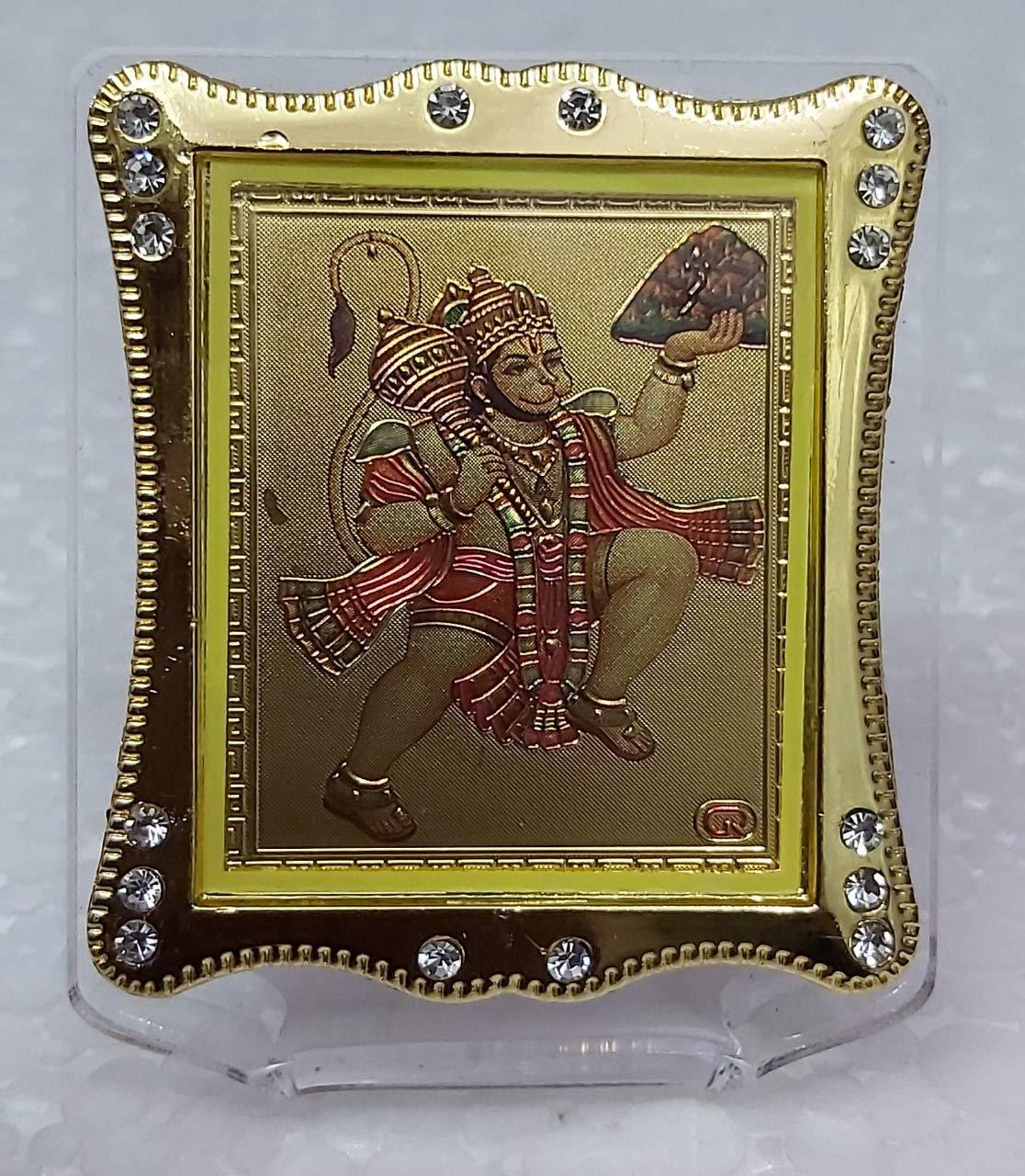 Buy Lakshay Trading Transparent Plastic Hanuman Ji With Parwat