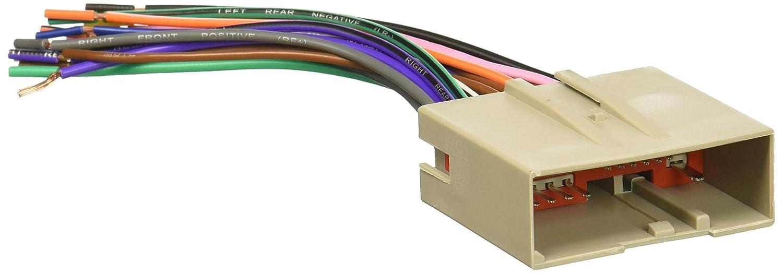 amazon com scosche fd23b 2003 up select ford harness car electronics rh amazon com Scosche Line Out Converter Installation Scosche Interface Wiring Diagram