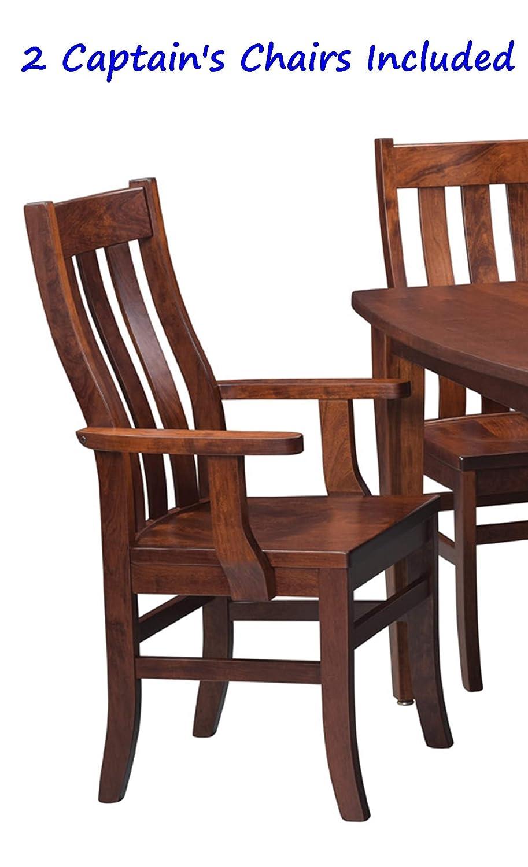 Amazon.com: Conjunto de comedor mesa de cocina de madera ...