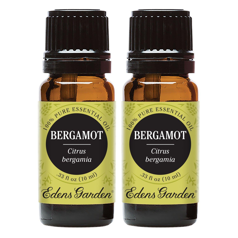 Edens Garden Bergamot Essential Oil, 100% Pure Therapeutic Grade (Cold Flu & Pain) 10 ml Value Pack