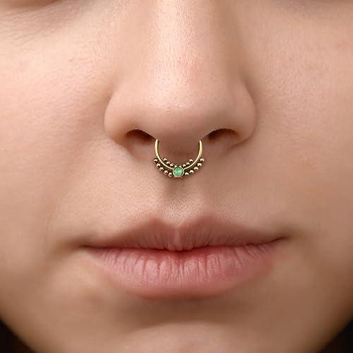 Daith Ring Surgical Steel Septum Hoop Septum Nose Ring