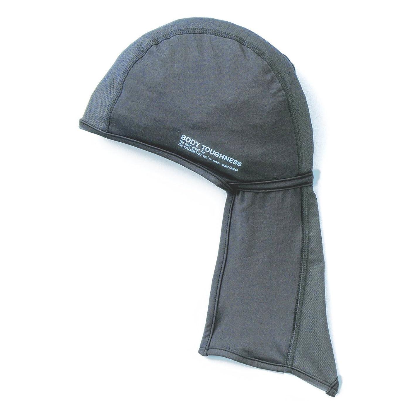 枯渇するコスチュームドラフトおたふく手袋 ボディータフネス 冷感 パワーストレッチ アームカバー Mサイズ ブラック JW-618