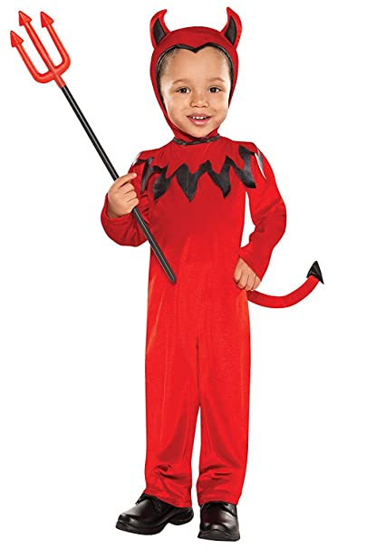 Christy  s - Costume Diavolo Bambino Halloween 1 - 2 anni  Amazon.it ... bf4ad6026f2d
