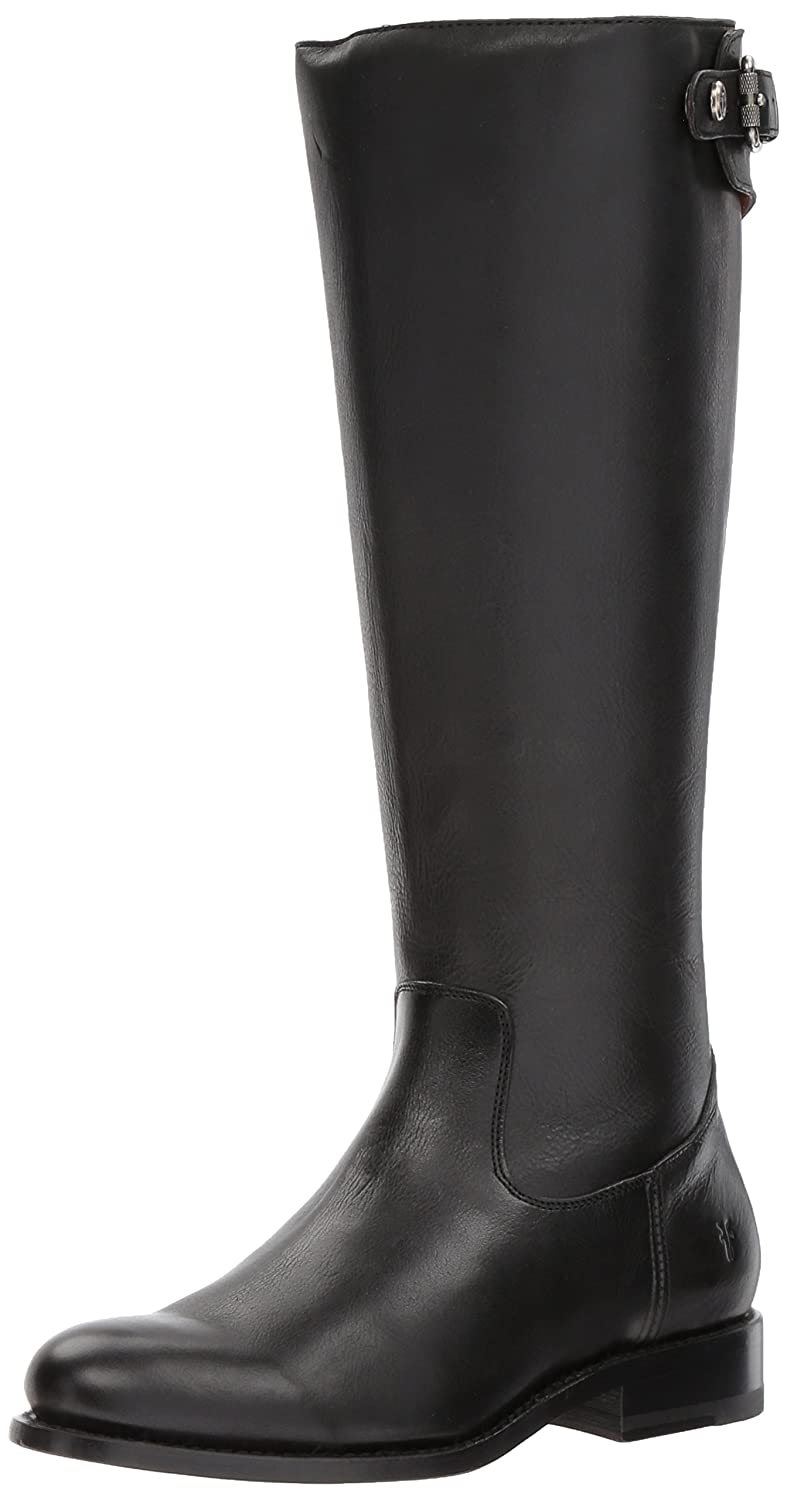 FRYE Women's Jayden Buckle Back Zip Riding Boot B01N3D414A 8.5 B(M) US|Black
