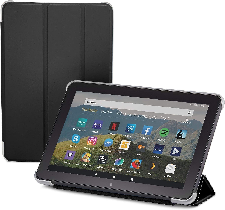 Nupro Hülle Für Fire Hd 8 Tablet 10 Generation 2020 Faltbar Und Mit Standfunktion Schwarz Kindle Shop
