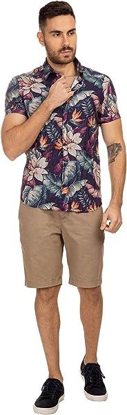 Camisa Manga Curta , Replay, Masculino