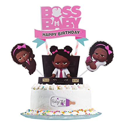 Fabulous Boss Baby Cake Topper Boss Baby Happy Birthday Cake Topper Personalised Birthday Cards Paralily Jamesorg