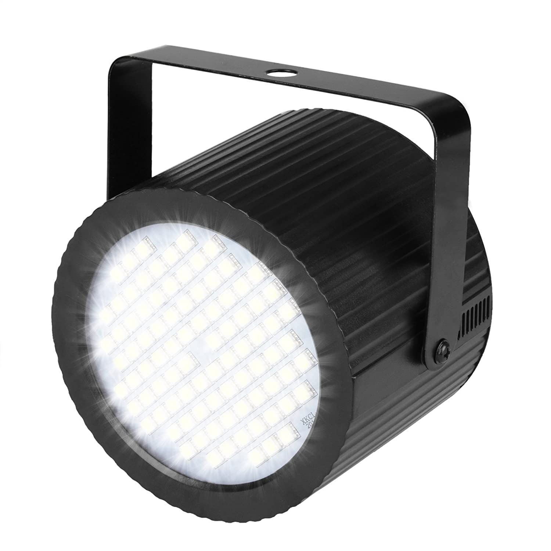 OTTFF Halloween Strobe Lights 20W Can Shape White Mini Strobe Stage Party Flash Lamp Lighting Sound-Activated Super Bright OT-XL204