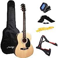 Martin Smith W-101-N-PK Akoestische gitaar met gitaarstandaard Gitaartuner Gitaartas Gitaarband Gitaar Plectrums en…