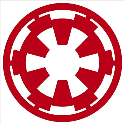 Amazon Star Wars Red Decal Galactic Empire Truck Window Red