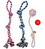 XL DOG ROPE TOYS FOR AGGRESSIVE CHEWERS - LARGE DOG BALL FOR LARGE AND MEDIUM DOGS - BENEFITS NON-PROFIT DOG RESCUE…