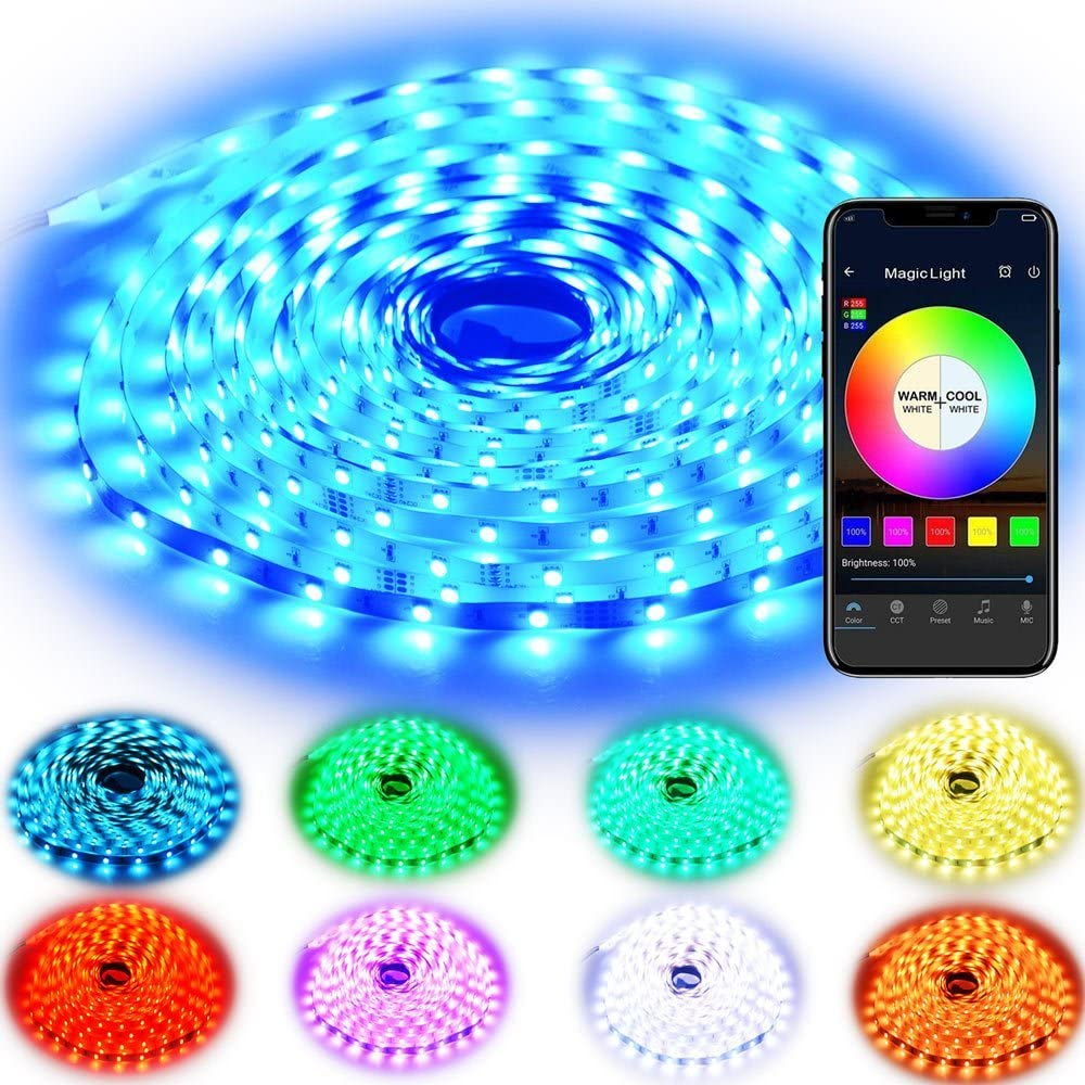 Rxment RGB LED Strip Lights