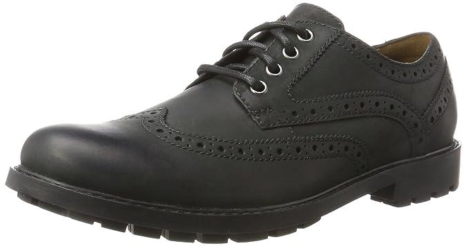 Clarks Curington Wing, Zapatos de Vestir para Hombre
