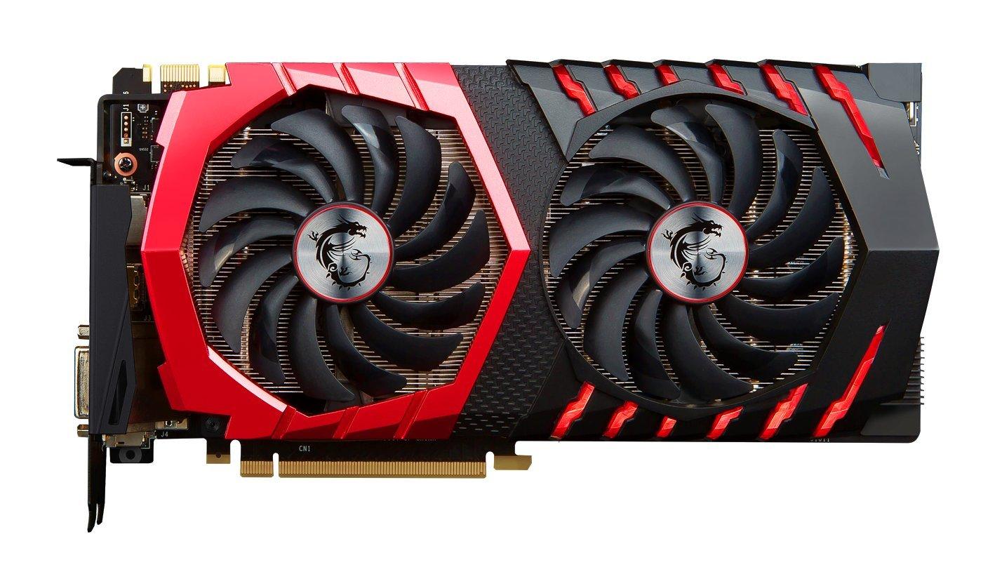 MSI Gaming GeForce GTX 1080 8GB GDDR5X SLI DirectX 12 VR Ready Graphics Card (GTX 1080 GAMING X 8G) by MSI (Image #2)