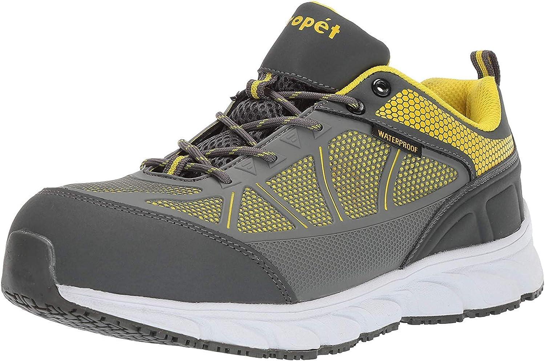 Propét Men's Seeley Construction Boot: Shoes