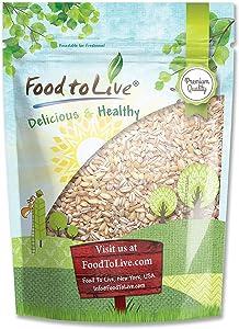 Pearl Barley, 3 Pounds - Kosher, Vegan, Raw, Bulk